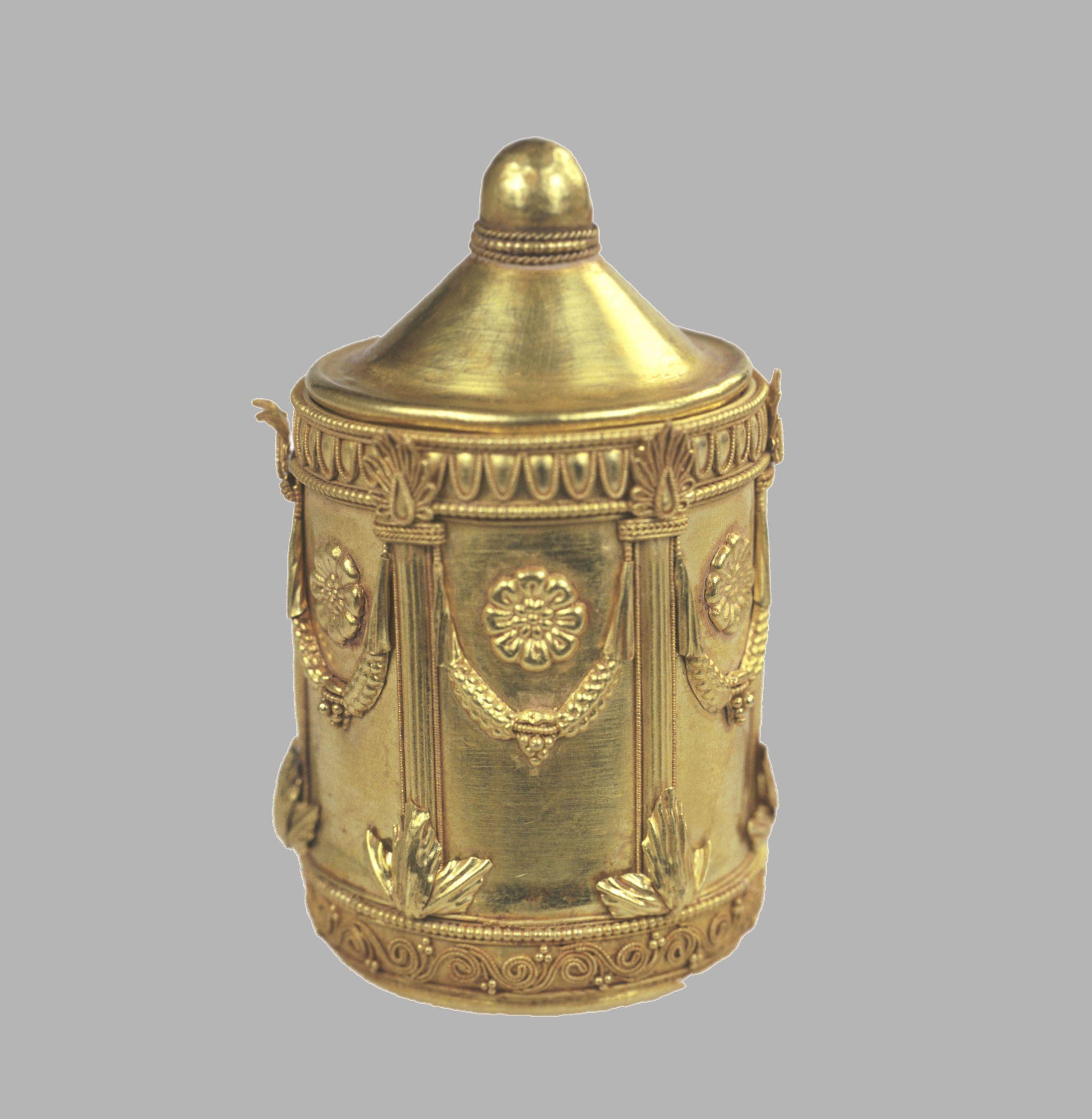 Pyxis/Greek (compass box), 3rd-1st Centuries B.C.