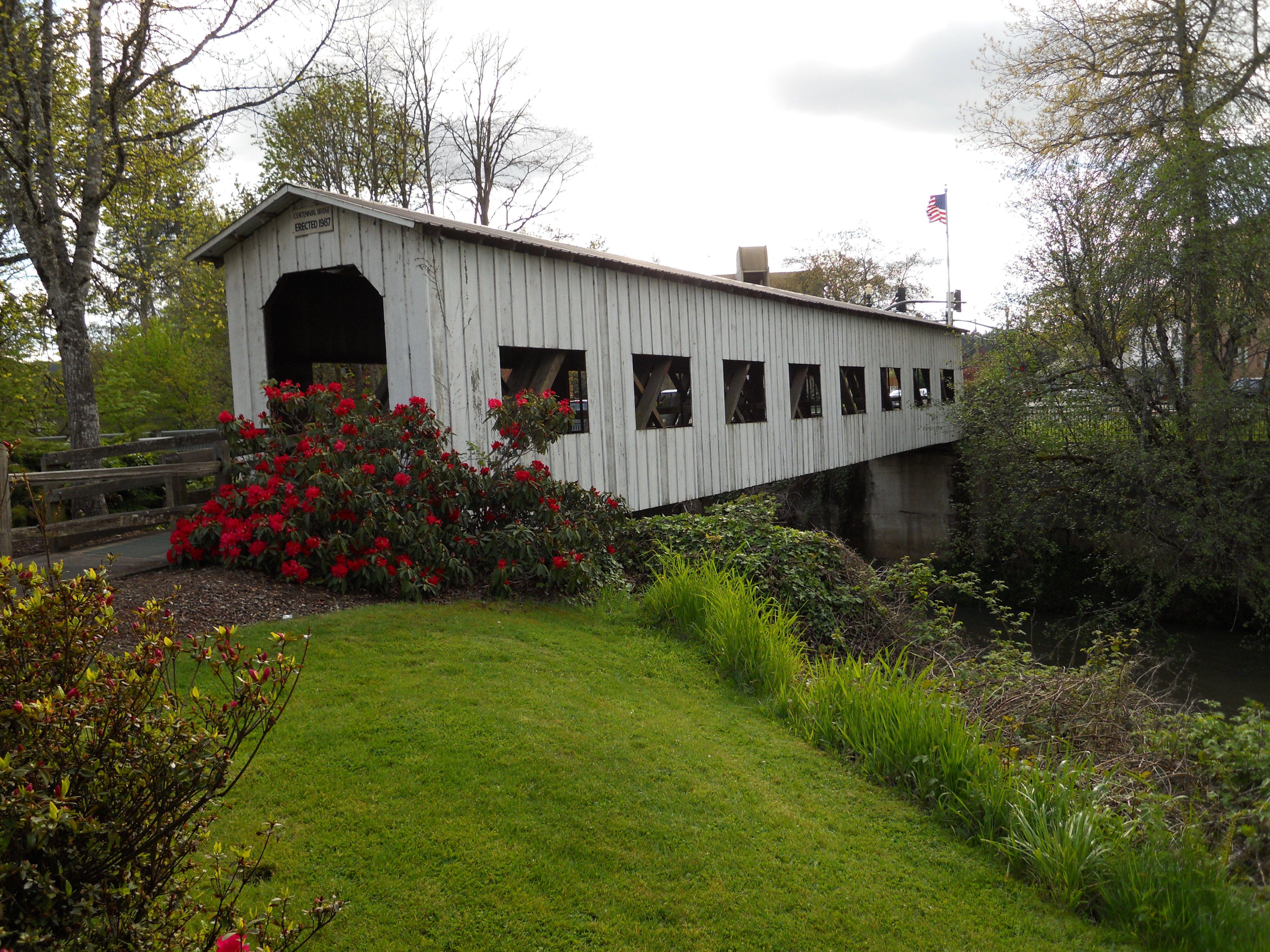 Covered Bridge Cottage Grove Oregon Covered Bridges Scenic Bridges Cottage Grove
