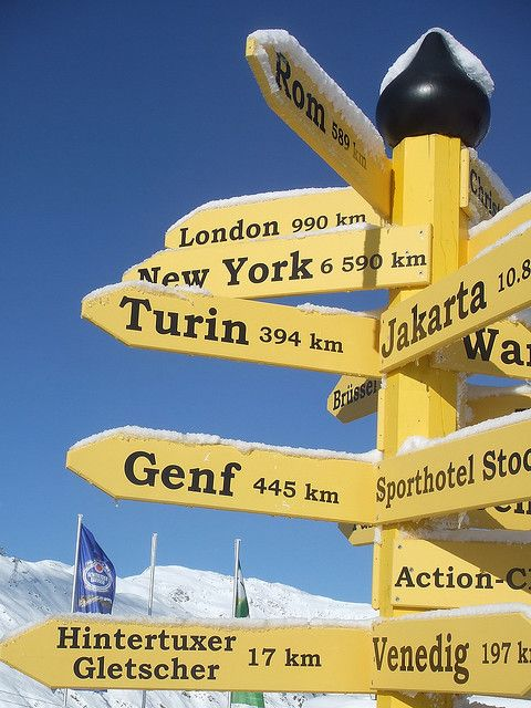 Directions from Mayrhofen
