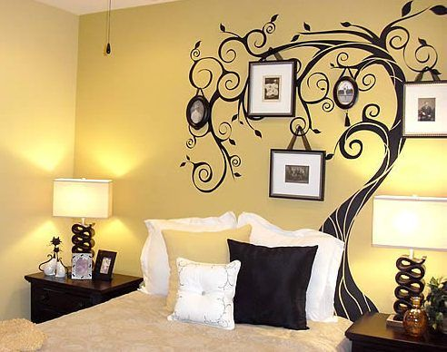 Choosing Bedroom Wall Painting Yellow Bedroom Wall Painting