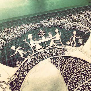 Suzy Taylor's papercutting blog