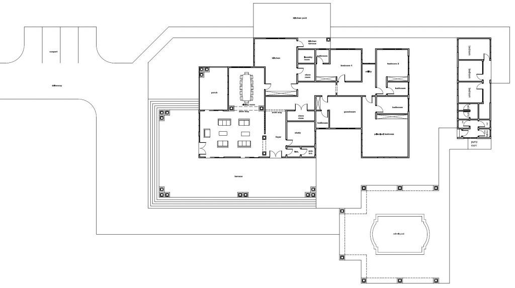 House Design Online Download This Beautiful Home Plans Now House Floor Plans House Plans Unique House Plans
