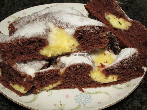 Schneller Schoko Pudding Kleckskuchen Rezept Schnelle Kuchen Backen Kuchen Ohne Backen Backen