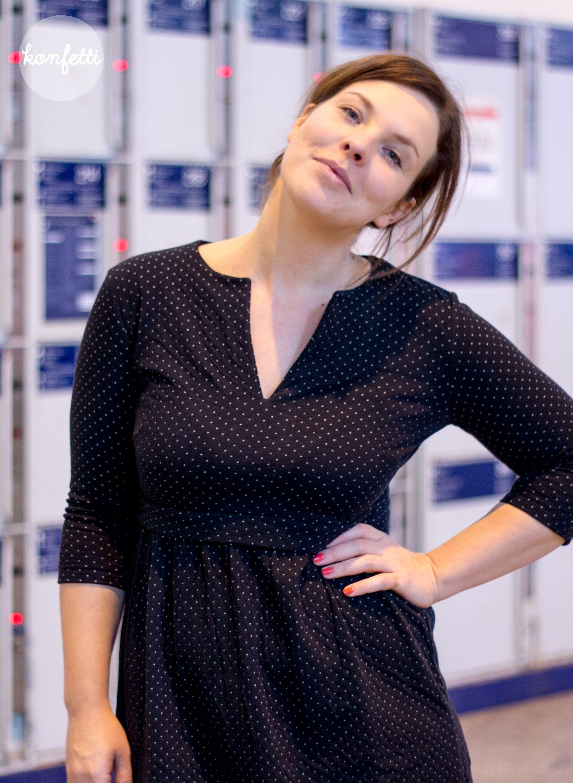 3291ee7e553 Mein Schnittmuster für ein Business-Kleid. In dem Kleid könnte ich auch ins  Büro
