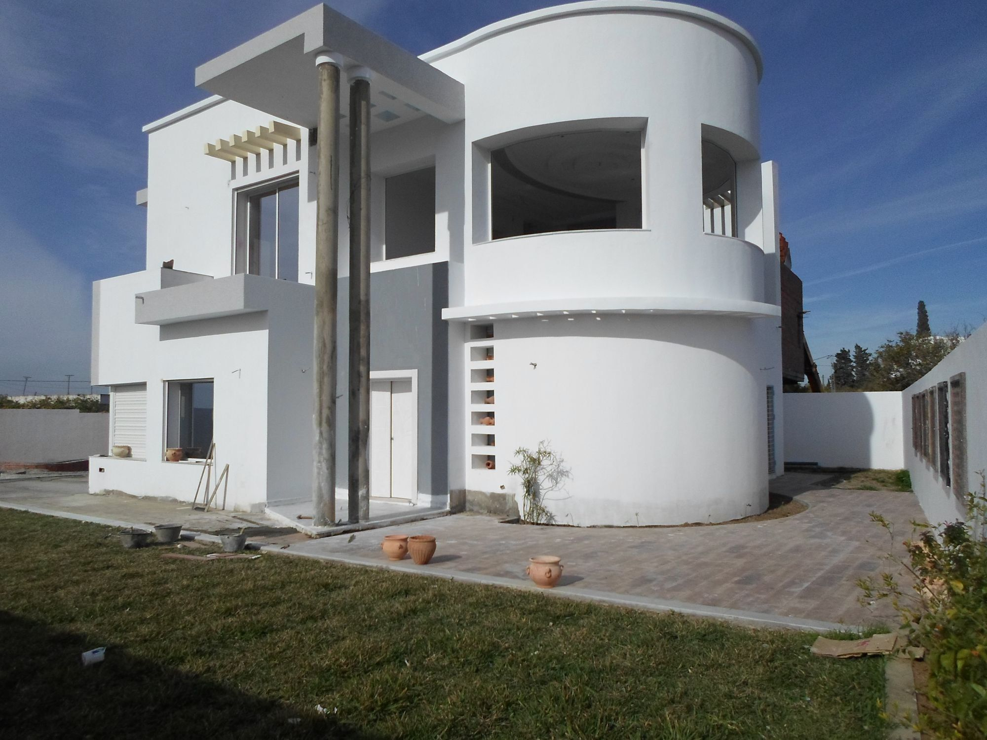 Decoration Facade Exterieur Maison Tunisie Stunning Images Design