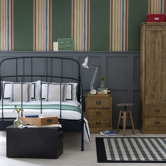 Tap Into The Industrial Style Trend | Teen Bedroom | PHOTO GALLERY | Ideal  Home Part 72