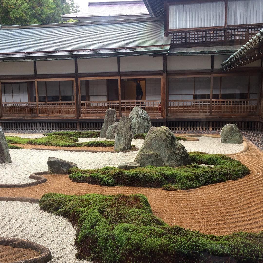 Koyasan fukuchiin buddism japanesegarden for Estanques japoneses jardin