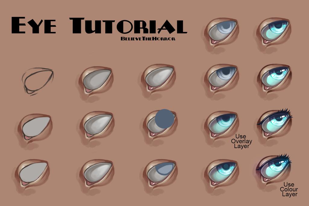 Eye Tutorial by https://www.deviantart.com ...