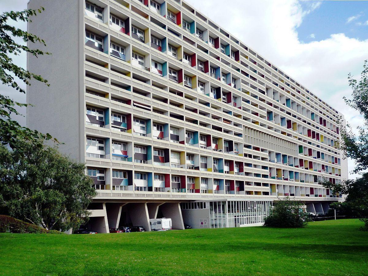 1200pxCorbusierhaus_Berlin_B.jpg (1200×900) Brutalist