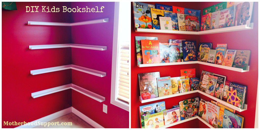 Diy Bookshelf Diy Bookshelf Kids Bookshelves Kids Kids Room Bookshelves