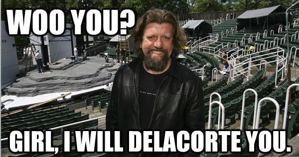 Delacorte Theater/Oskar Eustis meme
