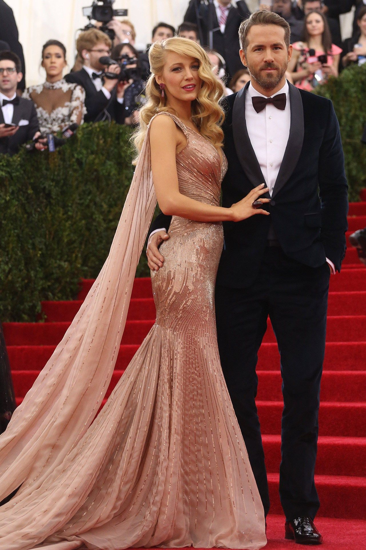 8758c1900dfa2 Is this Blake Lively s wedding dress  See the pic and decide