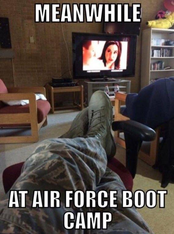 Military Memes Flo Air Force Boot Camp Airman Problems
