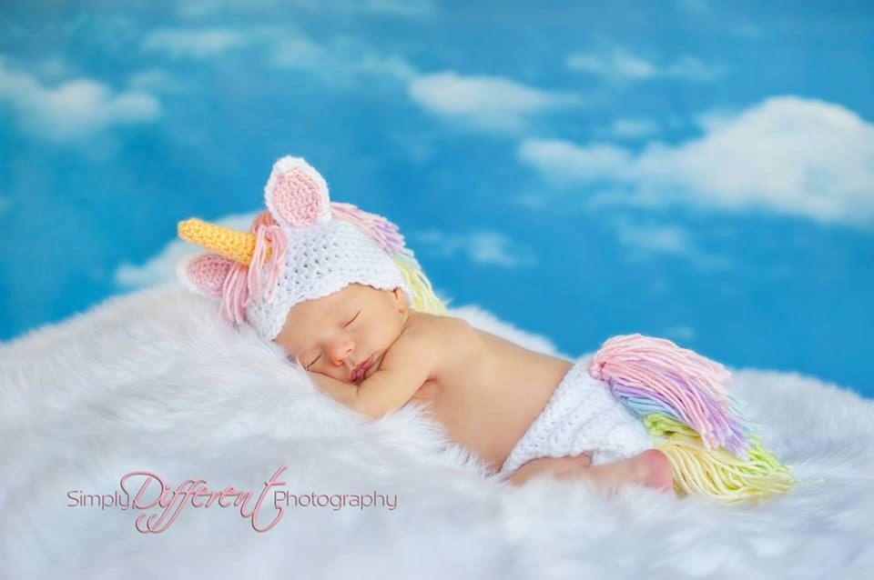 FREE Shipping My Little Pony / Unicorn Newborn by BrianaKcrochet ...