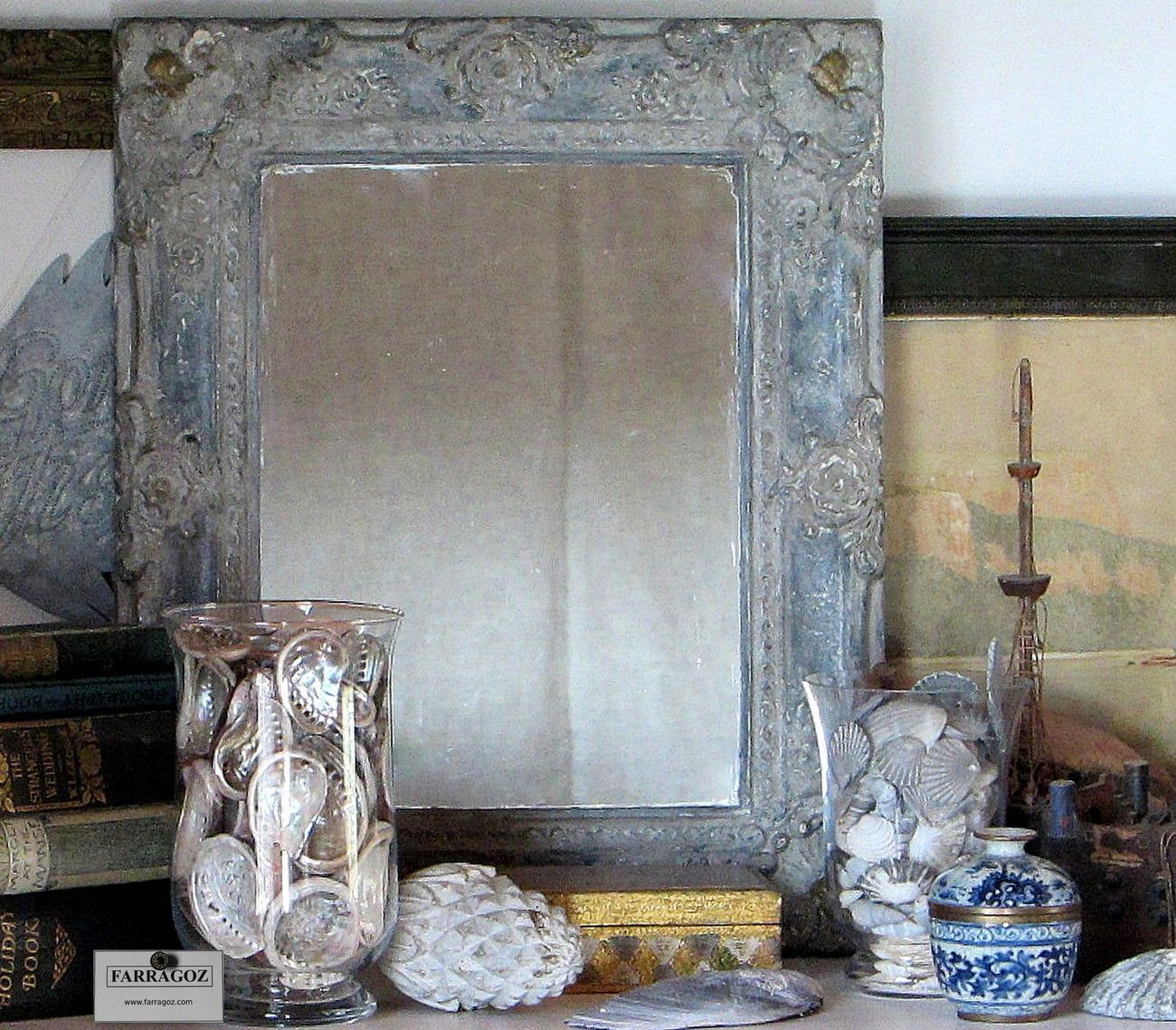 how to paint a plastic frame to look authentic antique | Paint ...