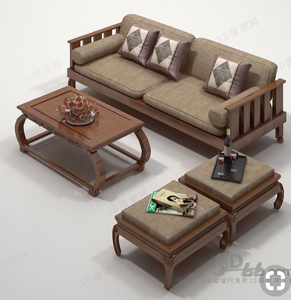 Pin By Mohammed Hussein On لاجووون Wooden Sofa Designs Wooden Sofa Set Designs Sofa Set Designs