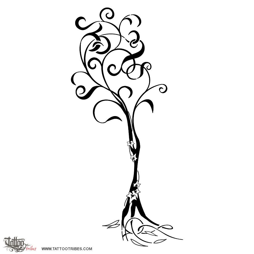 tatuaggio di albero di famiglia unione continuit tattoo custom tattoo designs on. Black Bedroom Furniture Sets. Home Design Ideas