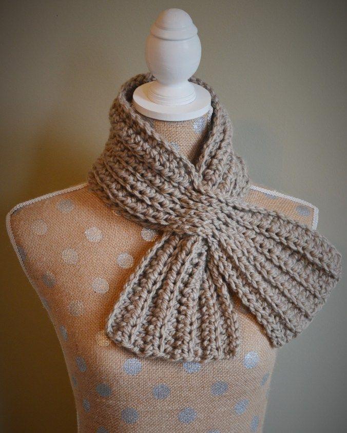 Weave Through Scarflette Free Pattern Let S Crochet Or Knit
