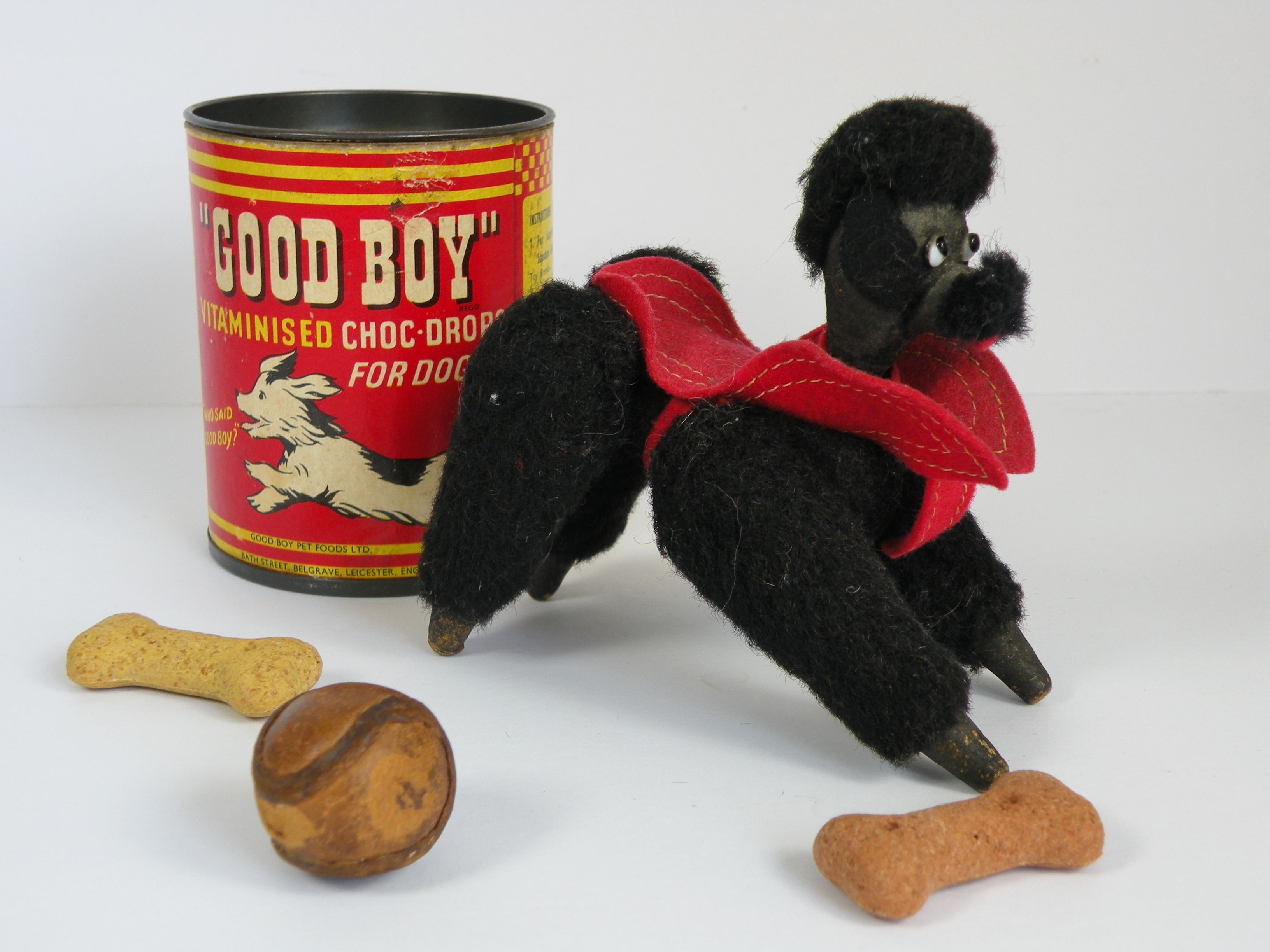 Inkspot A Tiny Little Woold And Wooden Jointed Bodied Poodle C1950 Www Onceuponatimebears Co Uk Pets For Sale Food Animals