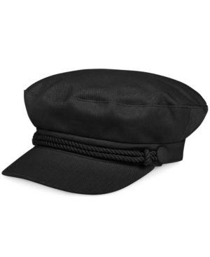 d5db8aac989a7 Nine West Canvas Newsboy Hat - Black