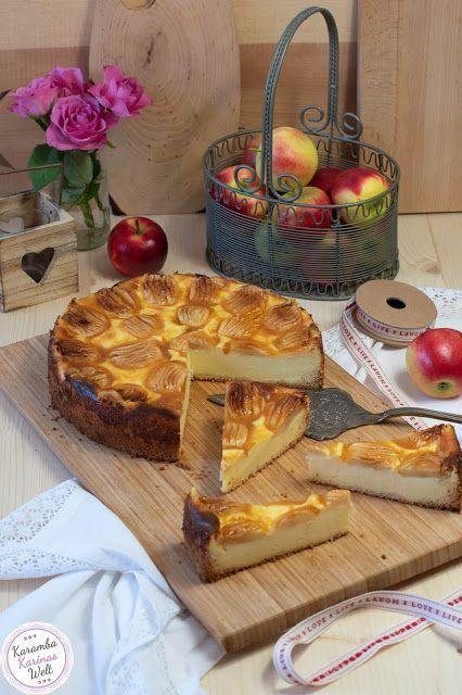 Bombastisch Leckerer Apfel Schmand Kuchen Apfel Schmand Kuchen Lecker Kuchen
