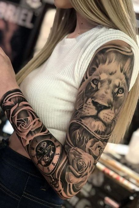Best Looking Arm Tattoos For Girls Latest Girls With Sleeve