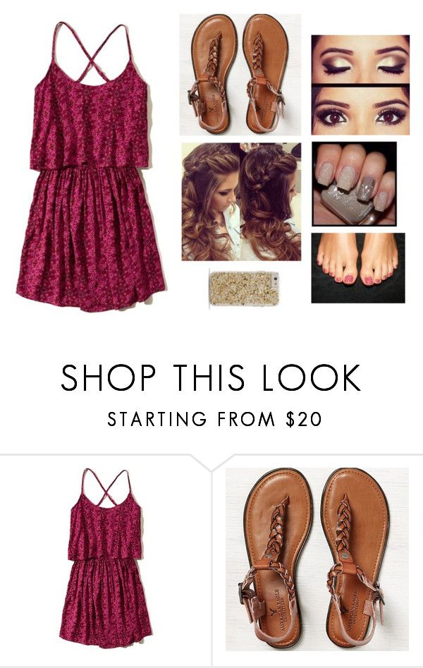 """""""Last night in Jacksonville"""" by abby-walker02 ❤ liked on Polyvore featuring Hollister Co., American Eagle Outfitters, Retrò and Case-Mate"""
