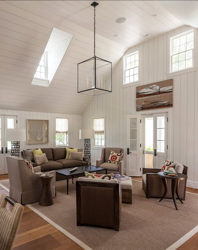 Lovely Living Room Design Ideas. Neutral Living Room. Paint Color: U201cBenjamin Moore  Dove Part 12