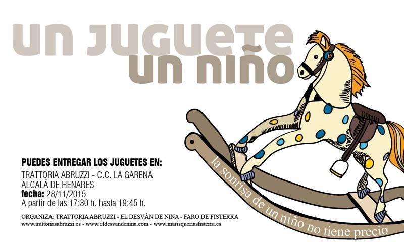 Campaña solidaria Un juguete, un niño - http://www.dream-alcala.com/campana-solidaria-un-juguete-un-nino/