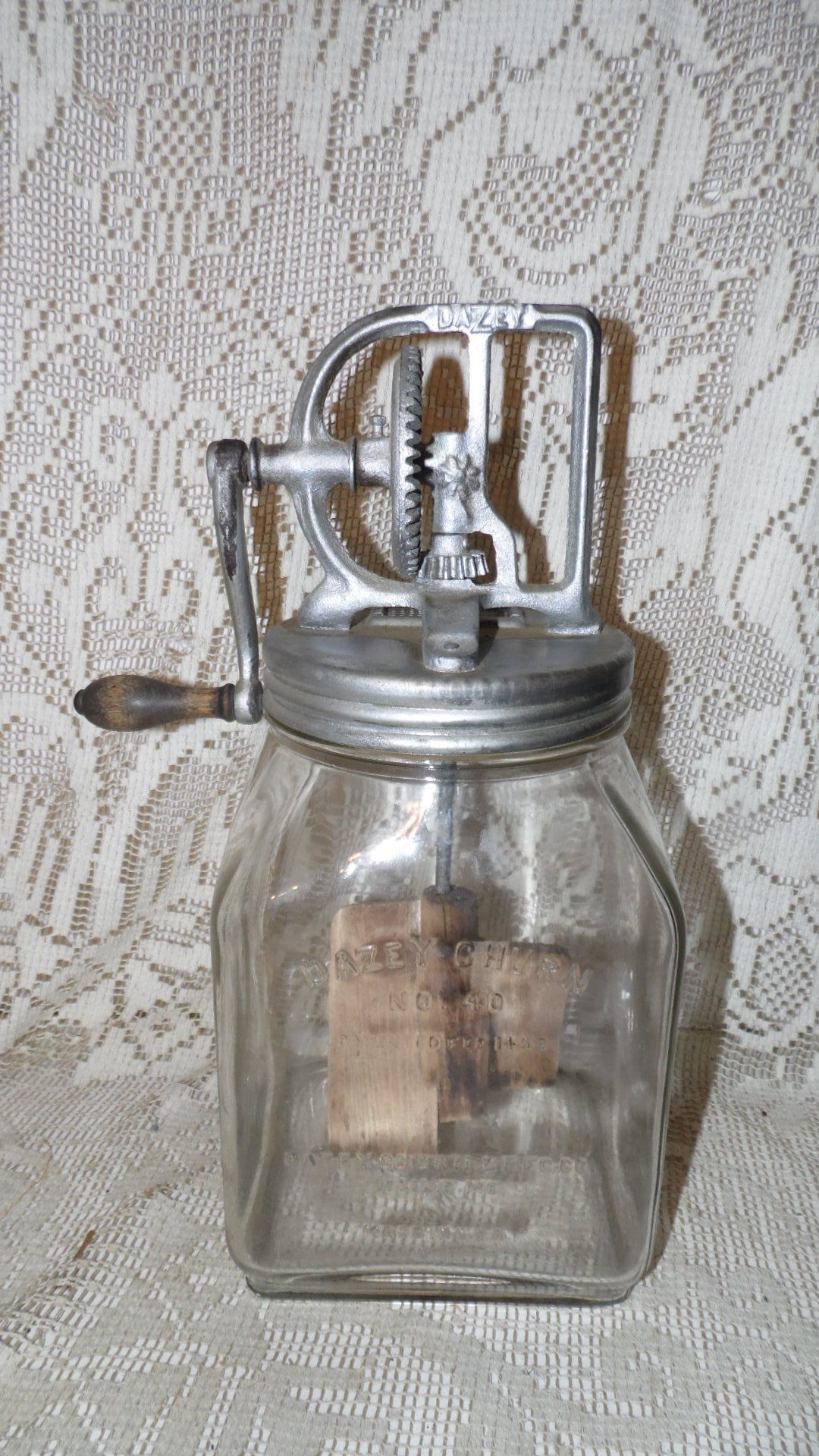 Primitive~Reproduction  Antique`Granny/'s Kettle` by The Country House`