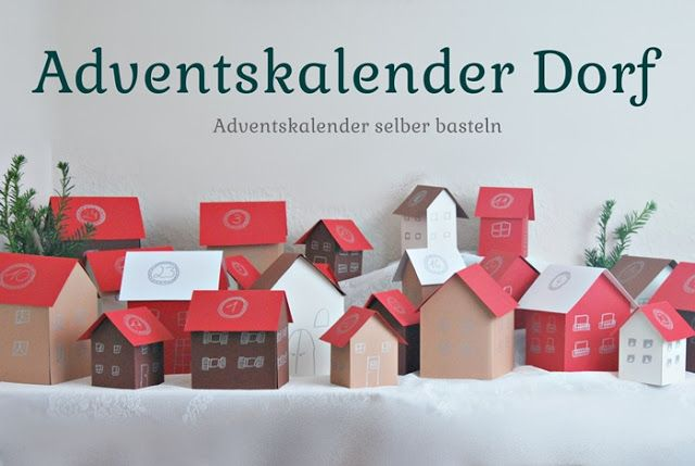 Adventskalender Dorf. Adventskalender