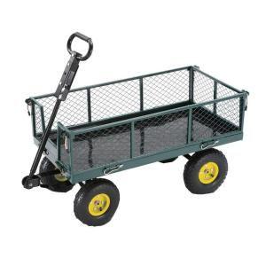 Steel Garden Cart SC100D At The Home Depot