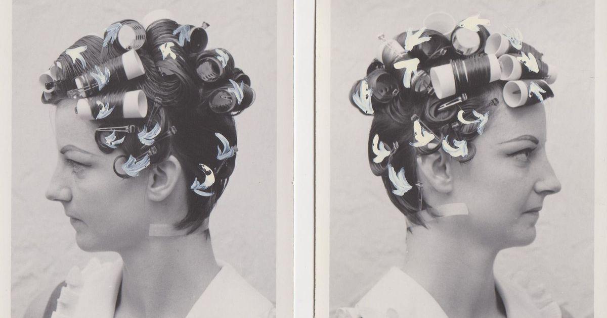 A collection of found photos explores hair through the 20th century https://t.co/Xkjb76PSIH