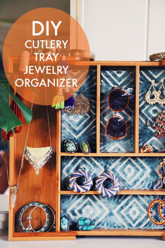 DIY JEWELRY ORGANIZER Diy jewelry organizer Trays and Craft