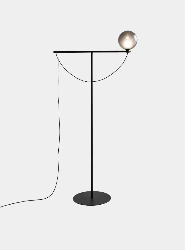 Black Globe Floor Lamp In 2020 Globe Floor Lamp Floor Lamp Lamp