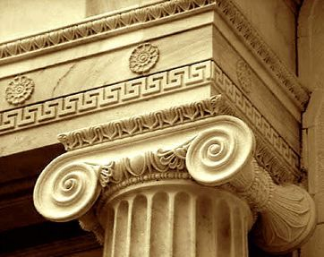 Roman Architecture Columns greek key detail (also know as fret) | architecture | pinterest