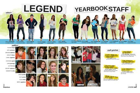 staffpg | Yearbooks: page design | Pinterest | Yearbooks, Yearbook ...