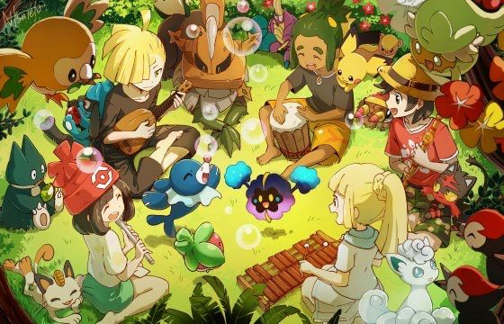Picnic with Nebby