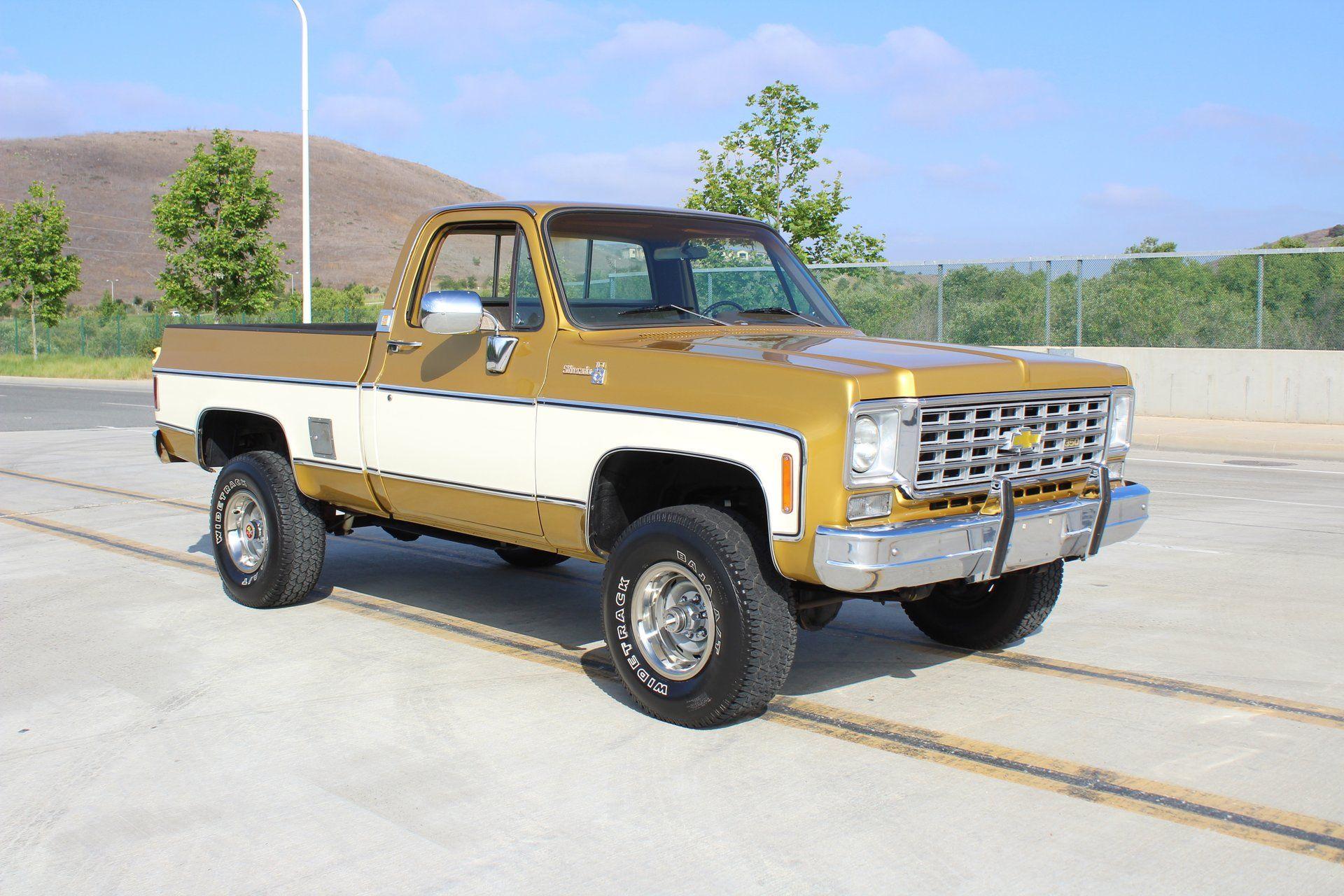 1975 Chevrolet Silverado Dirt Road Chevy Trucks Chevy Trucks