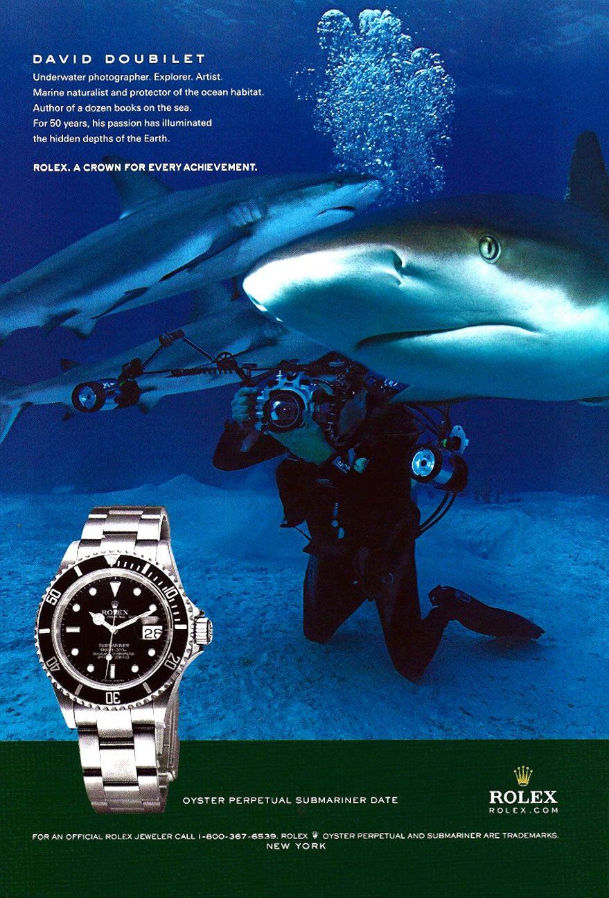 Wearing Relojes David Rolex Doubilet SubmarinerPublicidad De His 6yvbf7gY