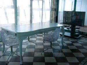Tavolo Chippendale Bianco.Tavolo In Stile Chippendale Meta 900 Rivisitato Laccato