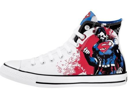 DC Comic Superhero Chuck Taylor Converses! Featuring Batman, Superman, The  Green Lanturn, @ More!