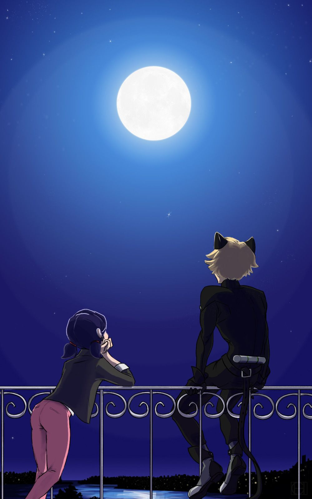 Cute Miraculous Ladybug Wallpaper My Plan Is To Stay Alive Til I Can See These Two Morons