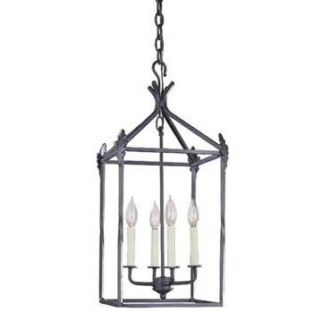 World Imports WI-61404-42 Classical Simplicity 4 Light Hanging ...