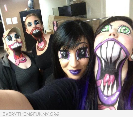funny caption awesome anime makeup | Funny Caption Pictures ...