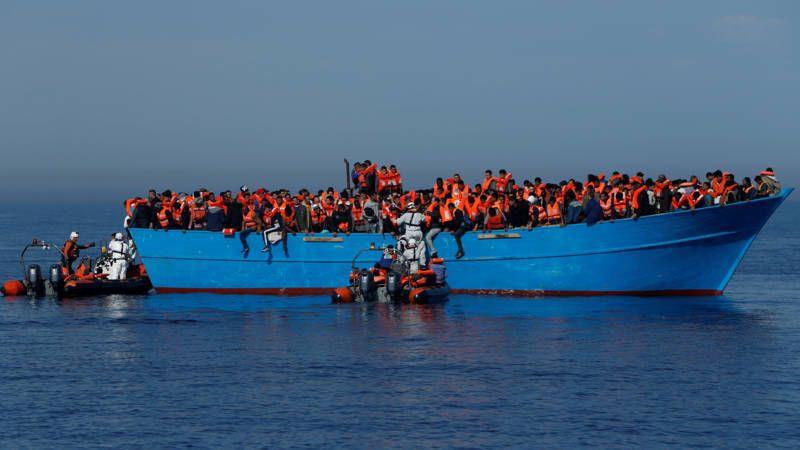 Dit jaar zijn al meer dan 45.000 mensen per boot van Libië naar Italië gekomen.
