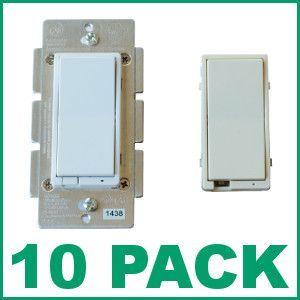 10 GE 12730 ZWave InWall Smart Fan Control  10 Pack  ZWave