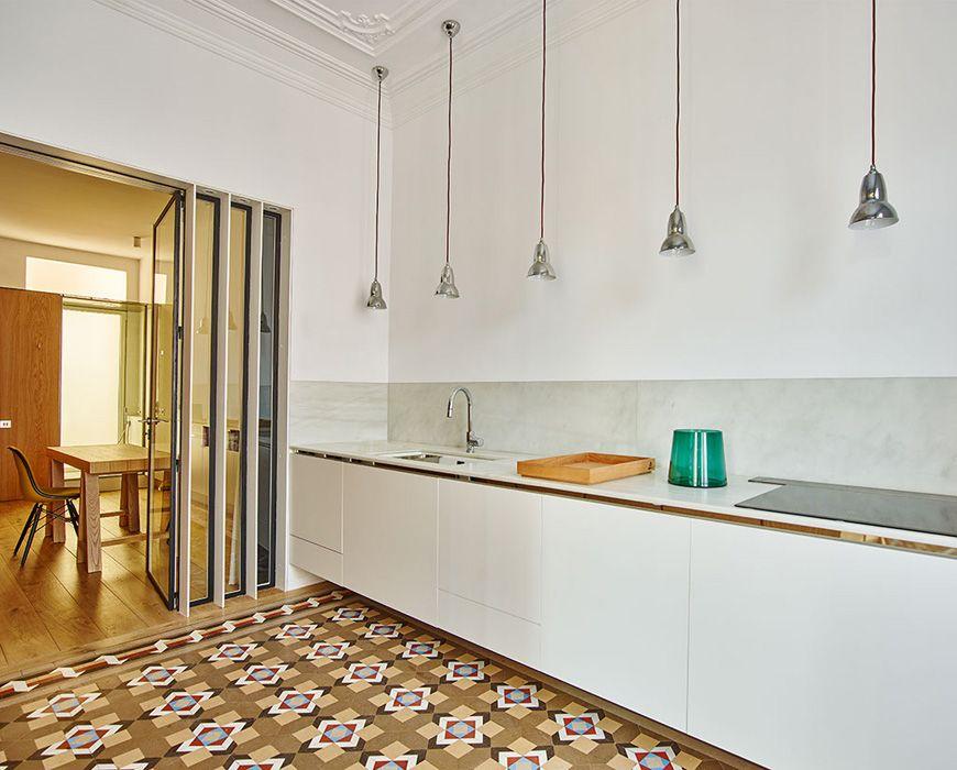 On Diseño - Proyectos: Casa AB en el Ensanche de Barcelona   BAÑOS ...