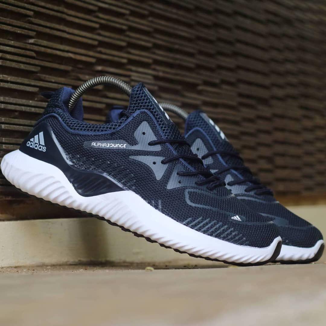 Ready Stock Sepatu Adidas Alphabounce Beyound Flyknit New