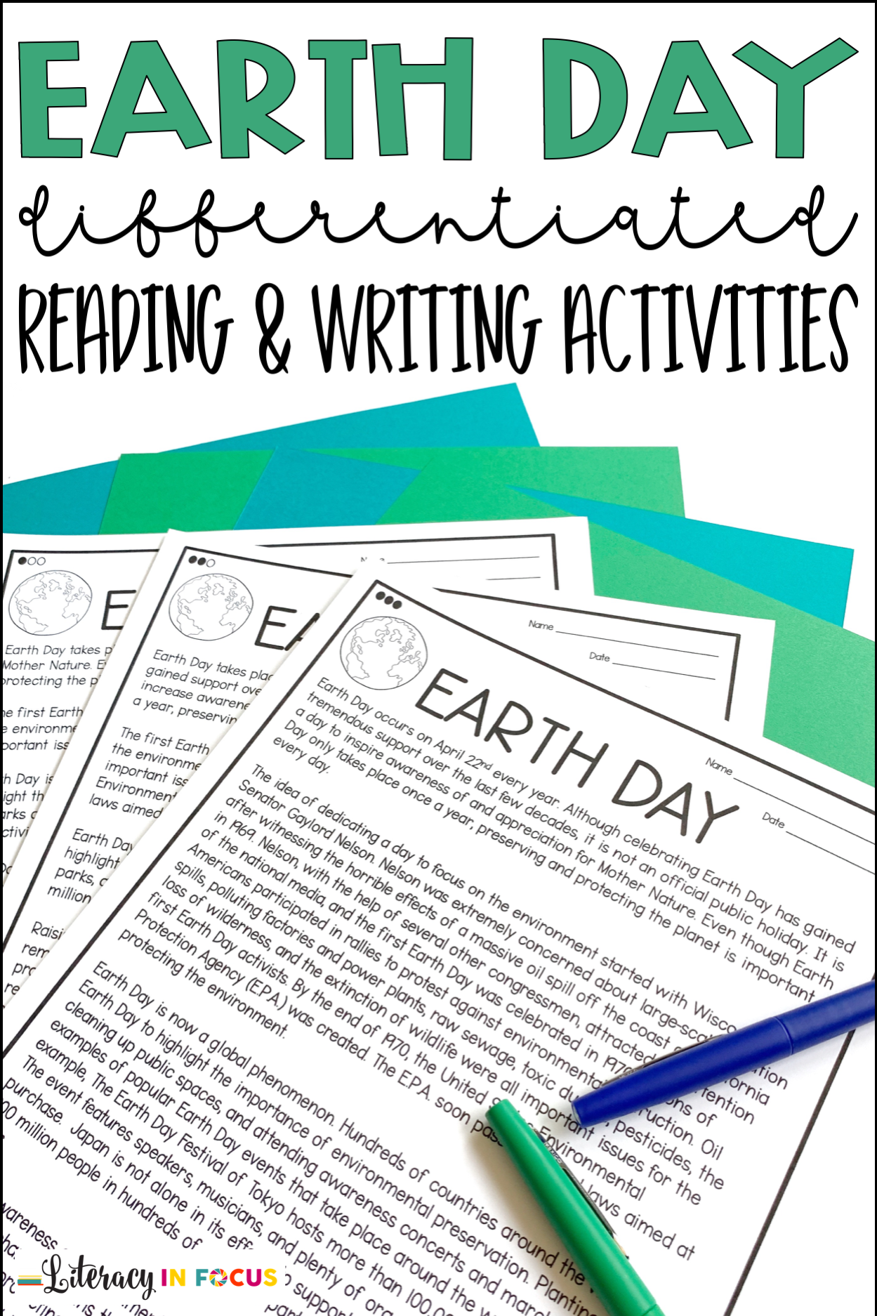 Pin On Earth Day Resources